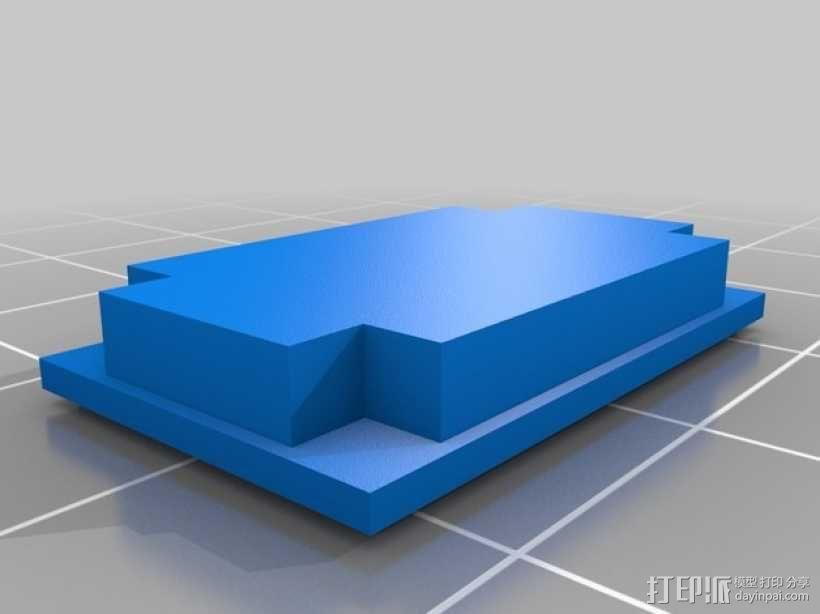 钢琴 凳子 3D模型  图6