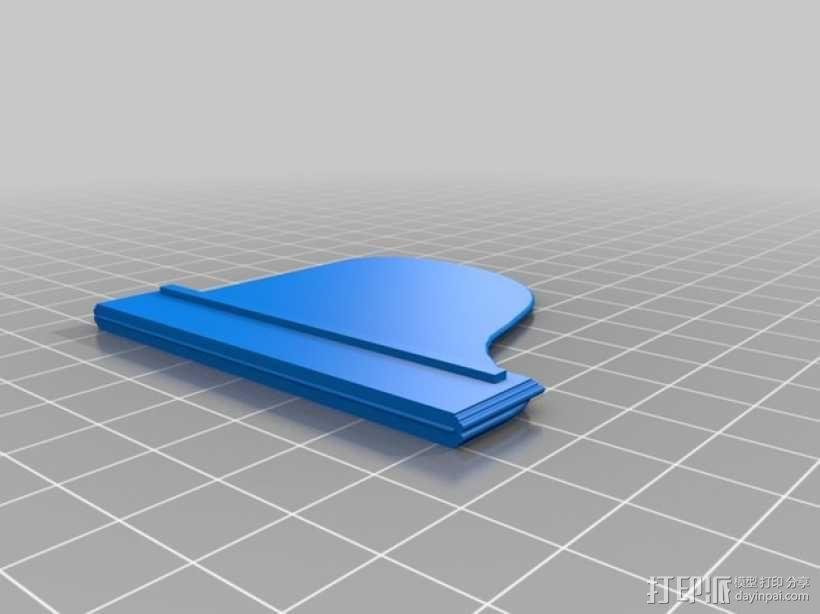 钢琴 凳子 3D模型  图7