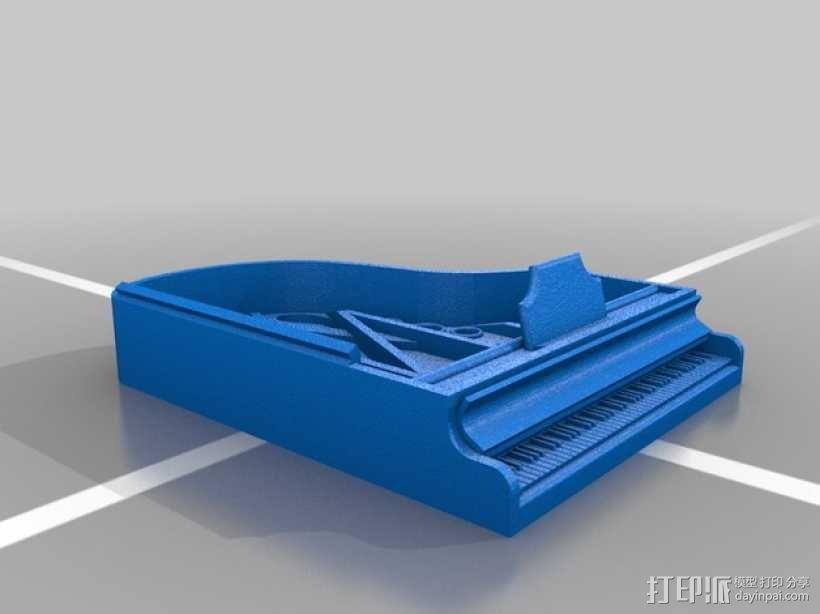 钢琴 凳子 3D模型  图8