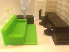 迷你家具模型 3D模型