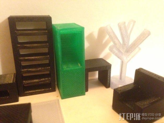 迷你家具模型 3D模型  图4