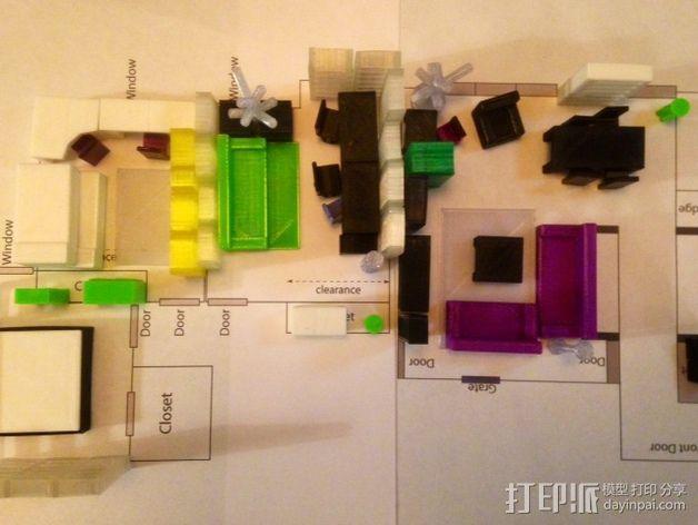 迷你家具模型 3D模型  图13