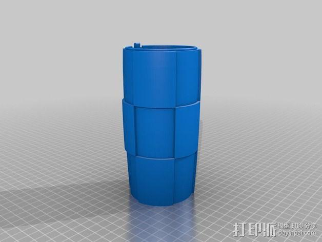 Tintin火箭 3D模型  图3
