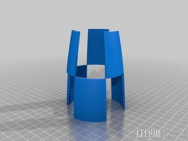 Tintin火箭 3D模型  图6