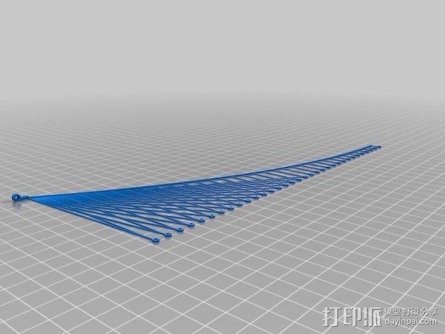 布鲁克林大桥 3D模型  图5