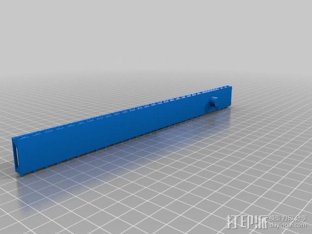 布鲁克林大桥 3D模型  图4