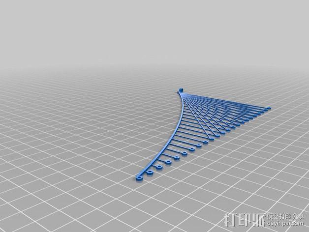 布鲁克林大桥 3D模型  图8
