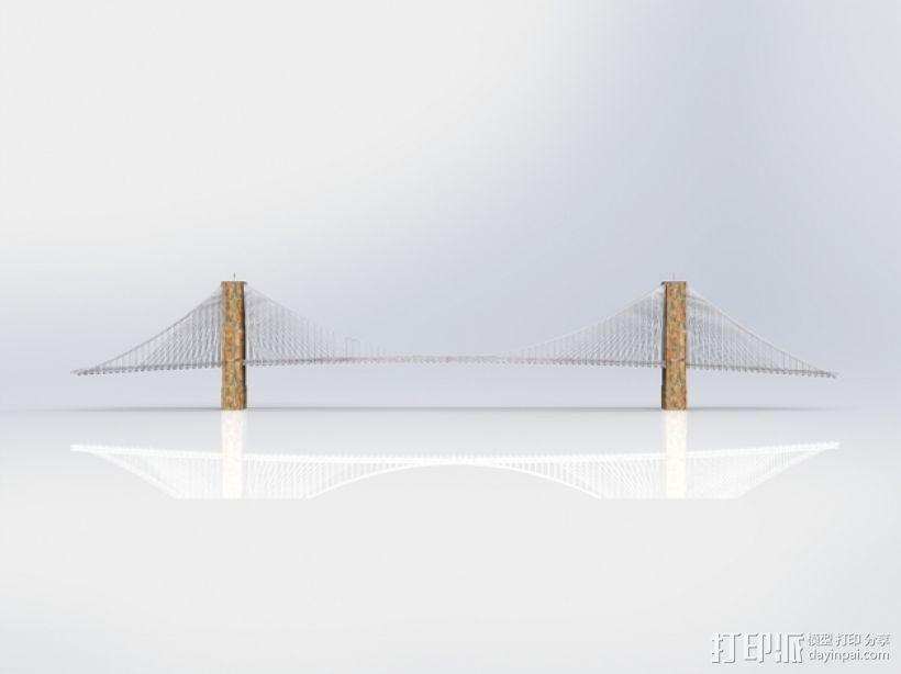 布鲁克林大桥 3D模型  图12