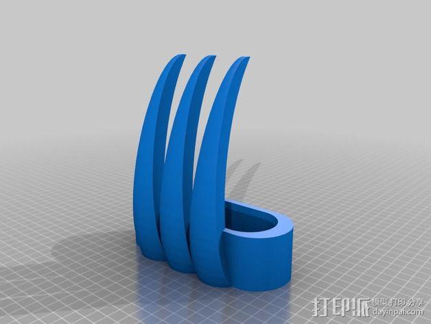 狼爪 3D模型  图3