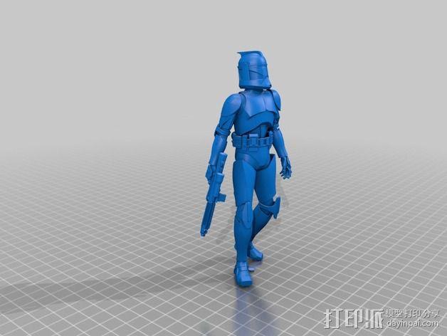 星球大战骑兵 3D模型  图1