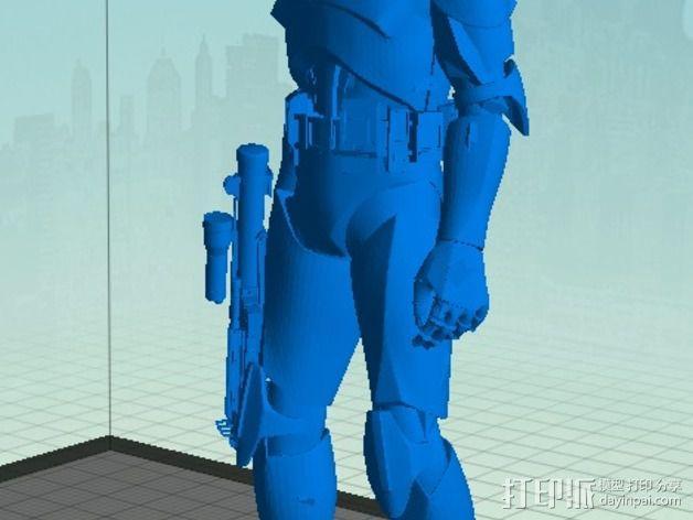 星球大战骑兵 3D模型  图4