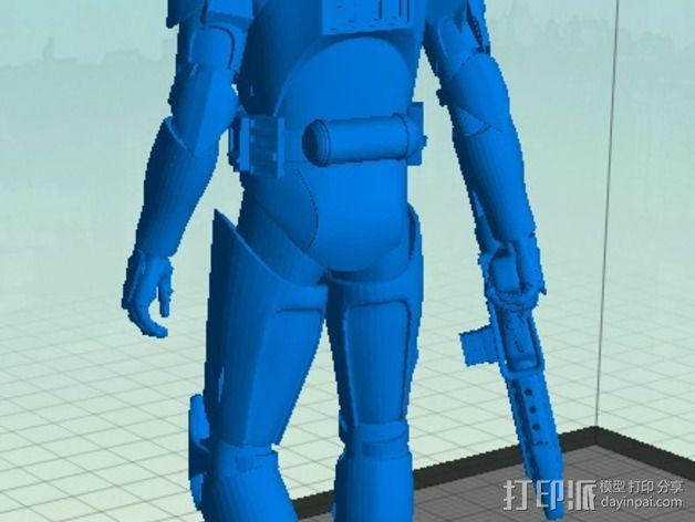 星球大战骑兵 3D模型  图3