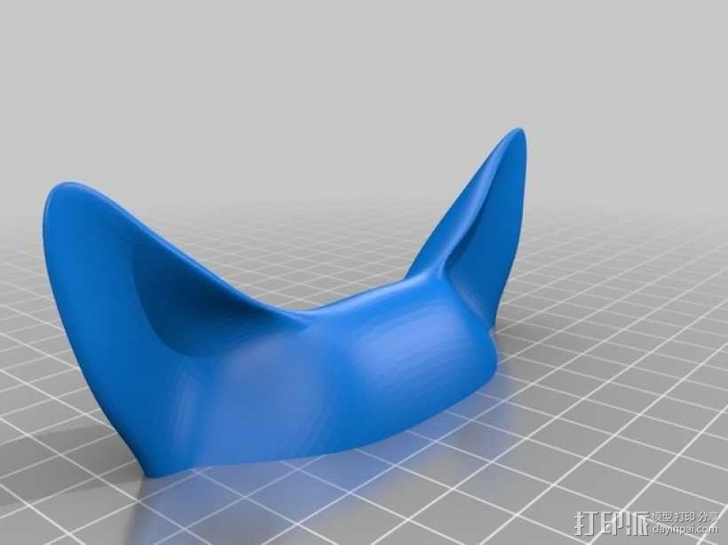 幽灵公主面具 3D模型  图2