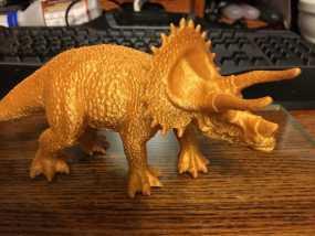 三角恐龙 3D模型