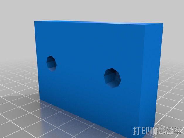 蝙蝠侠半身像模具 3D模型  图2