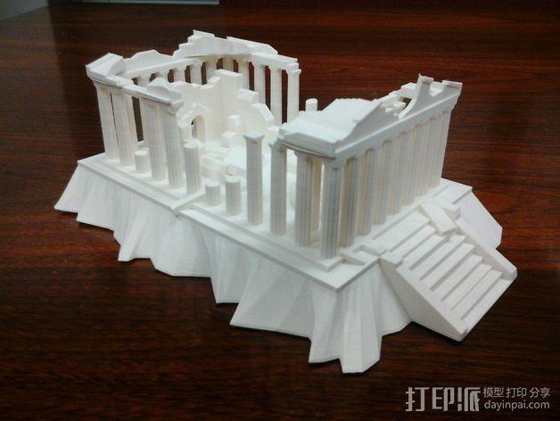 爱奥尼亚废墟 3D模型  图3