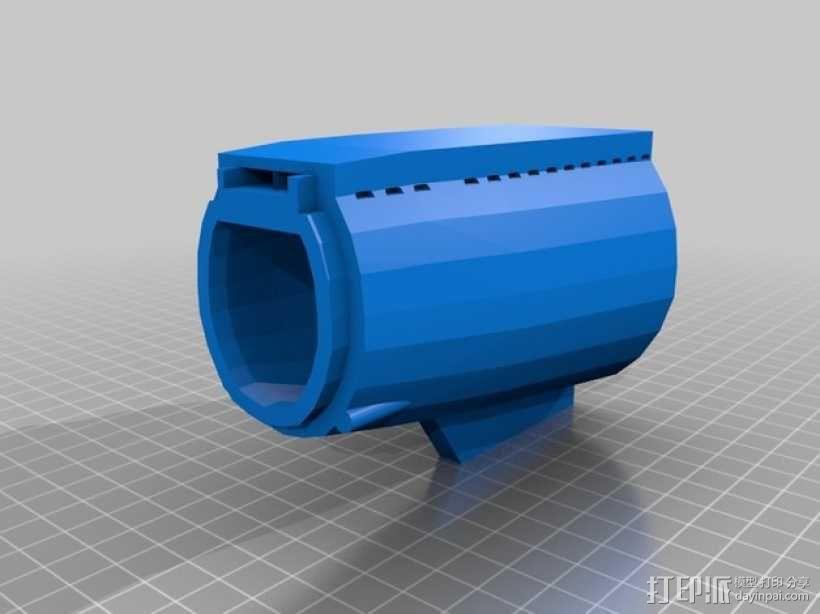 Bathtub U-Boat赛艇 3D模型  图1