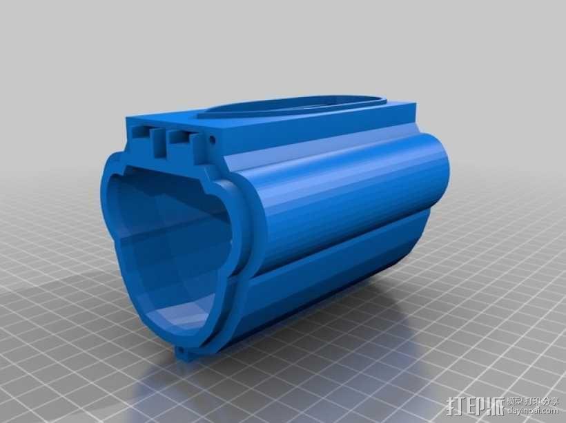 Bathtub U-Boat赛艇 3D模型  图4