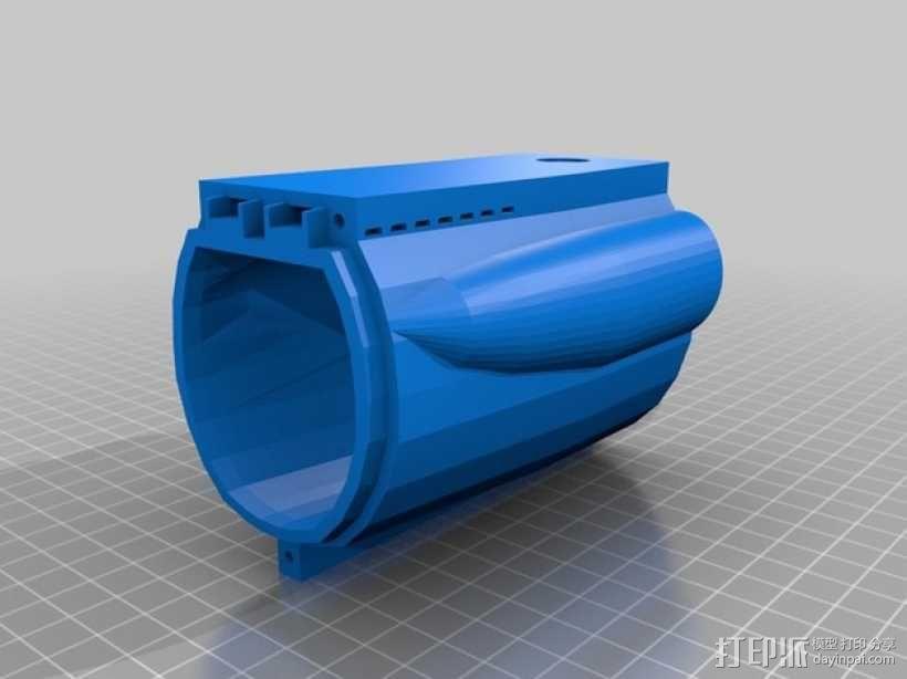 Bathtub U-Boat赛艇 3D模型  图5