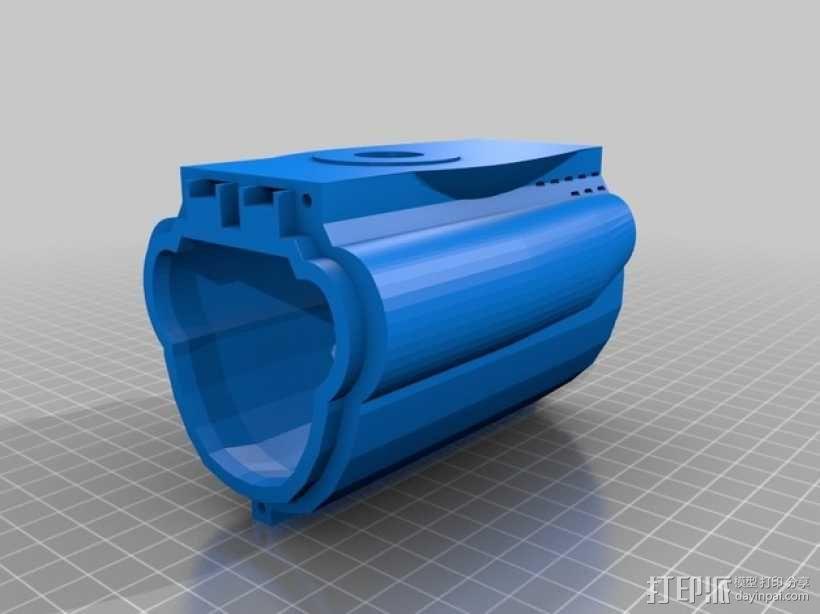 Bathtub U-Boat赛艇 3D模型  图6