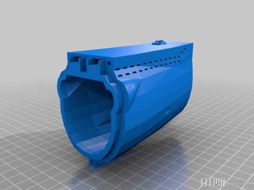Bathtub U-Boat赛艇 3D模型  图7