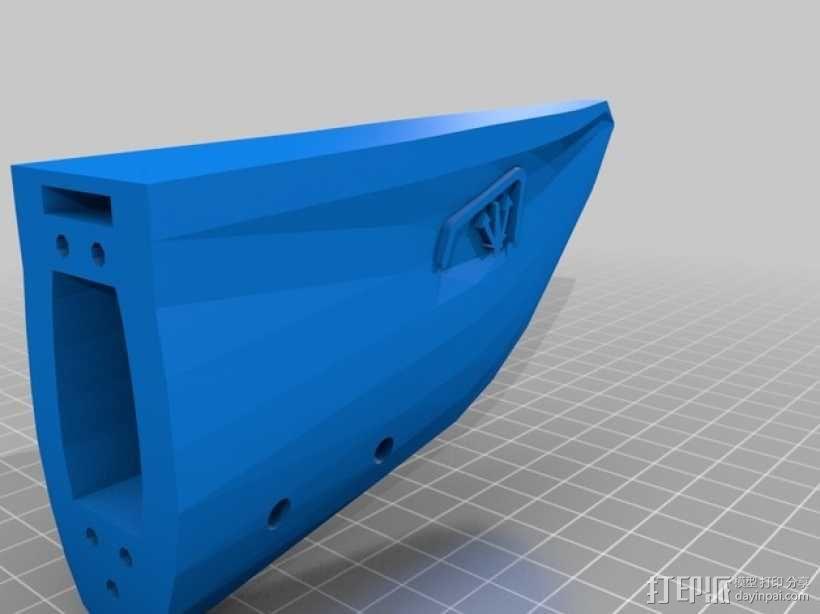 Bathtub U-Boat赛艇 3D模型  图8