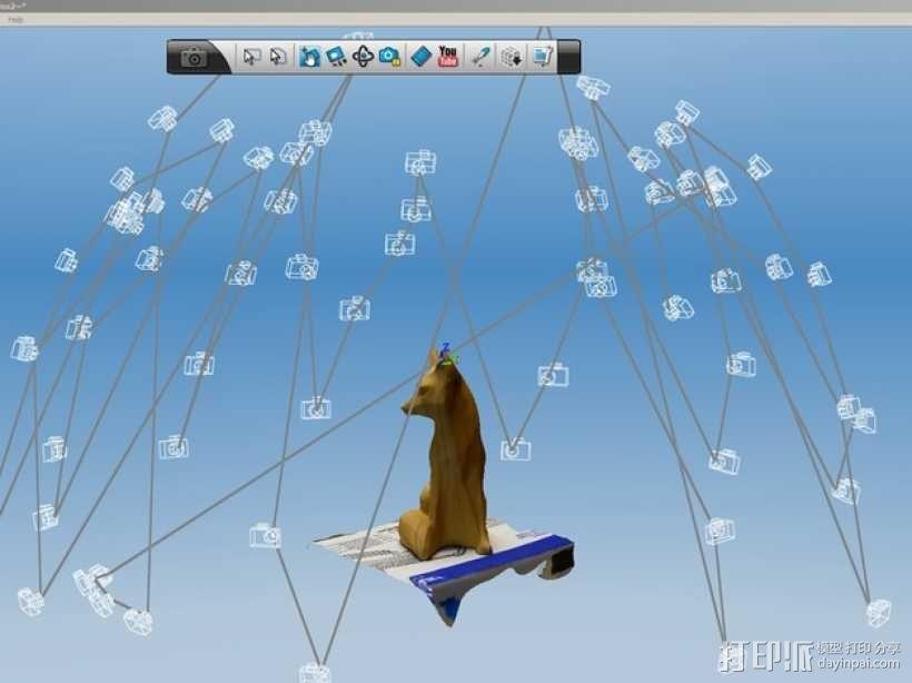 木质狐狸 3D模型  图5