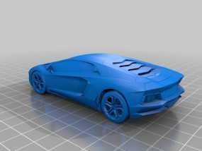 兰博基尼跑车 3D模型