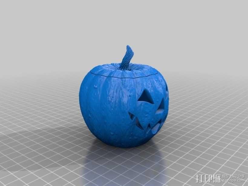 杰克灯  南瓜灯 3D模型  图5