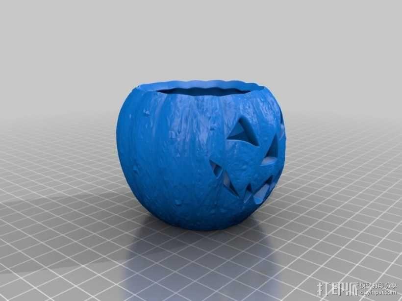 杰克灯  南瓜灯 3D模型  图6