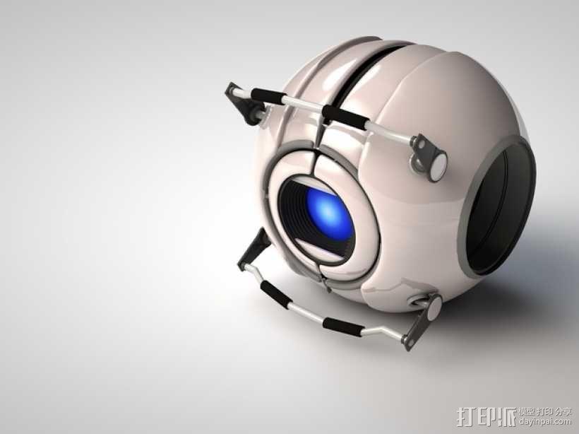 Wheatley惠特利智能球 3D模型  图1