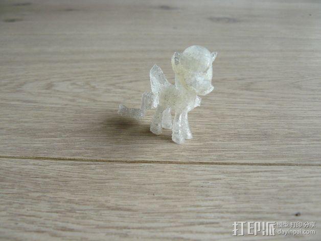 小马驹 彩虹小马 3D模型  图7