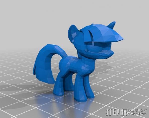 小马驹 彩虹小马 3D模型  图12