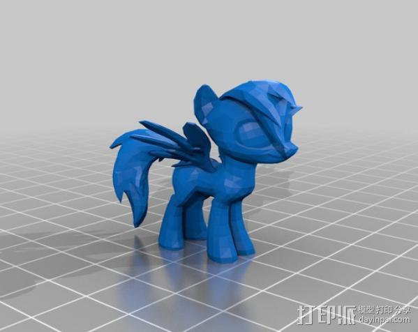 小马驹 彩虹小马 3D模型  图14