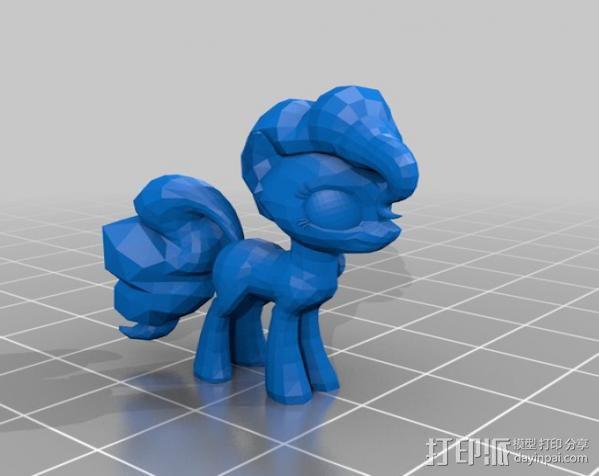 小马驹 彩虹小马 3D模型  图13