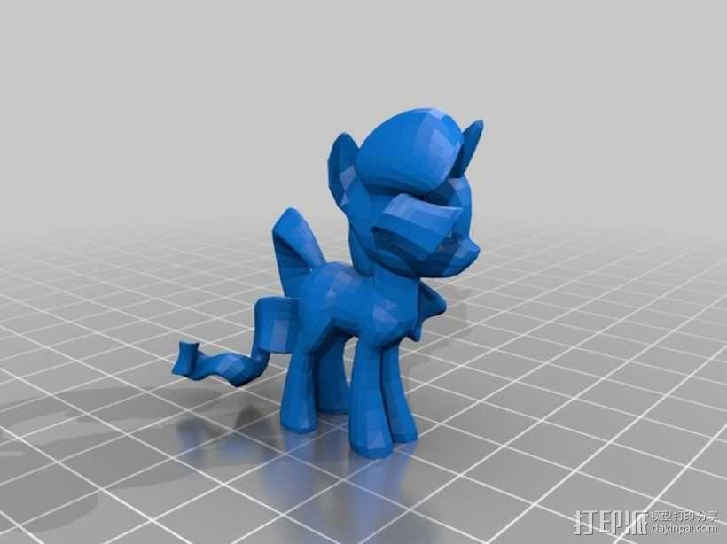 小马驹 彩虹小马 3D模型  图16