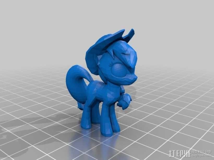 小马驹 彩虹小马 3D模型  图15