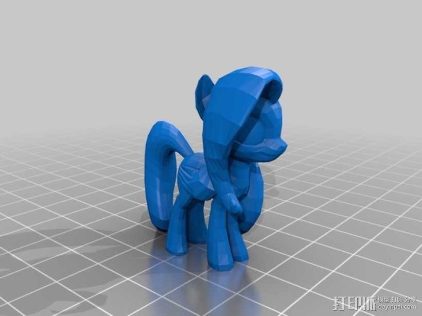 小马驹 彩虹小马 3D模型  图17