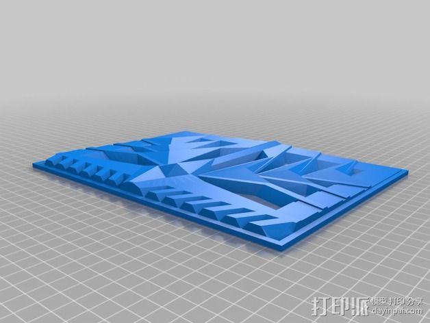 比特摩尔庄园瓷砖 3D模型  图2