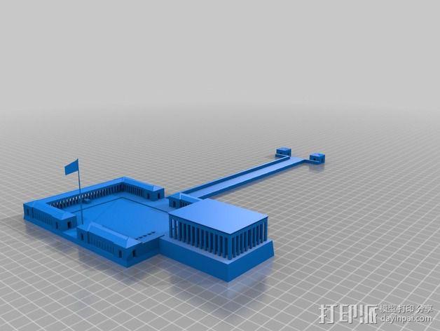 亚狄陵 3D模型  图2