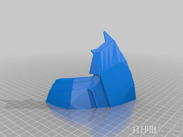 钢铁侠盔甲护胸 3D模型  图2
