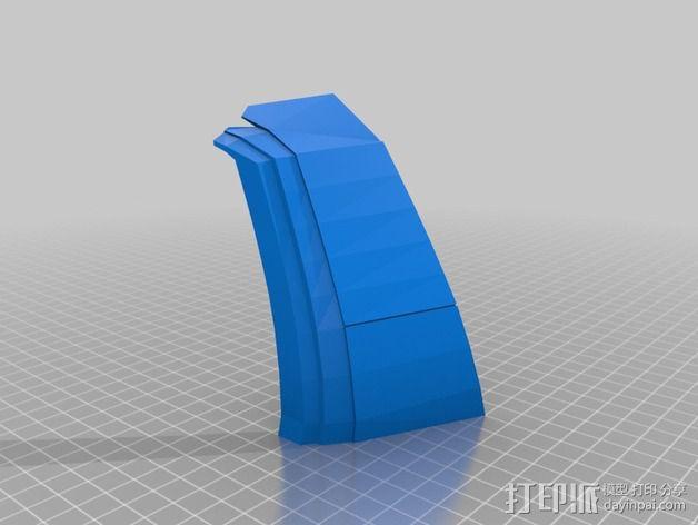 钢铁侠盔甲护胸 3D模型  图3