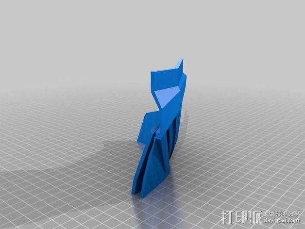 钢铁侠盔甲护胸 3D模型  图5