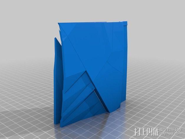 钢铁侠盔甲护胸 3D模型  图6