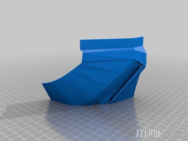 钢铁侠盔甲护胸 3D模型  图7