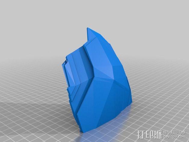 钢铁侠盔甲护胸 3D模型  图9