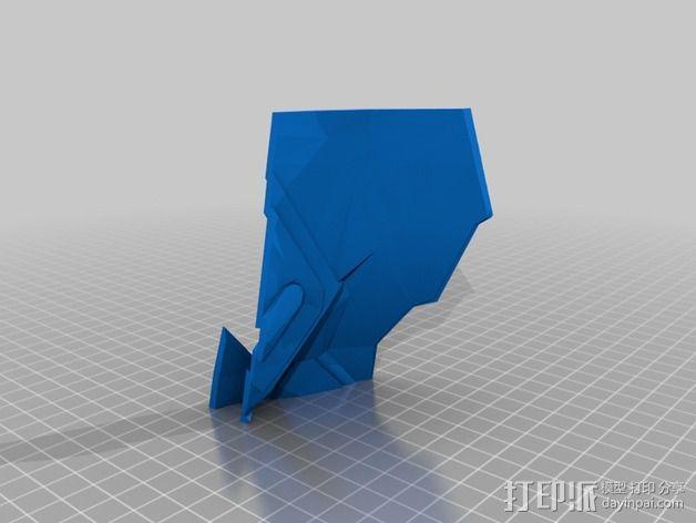 钢铁侠盔甲护胸 3D模型  图13