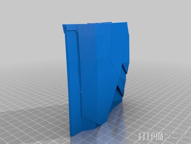 钢铁侠盔甲护胸 3D模型  图16