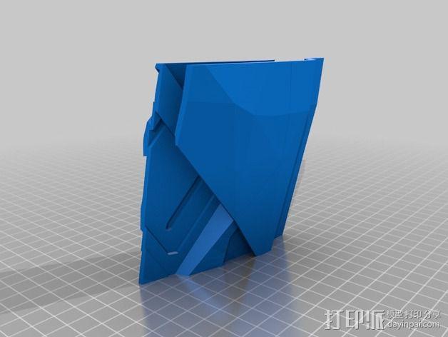 钢铁侠盔甲护胸 3D模型  图17