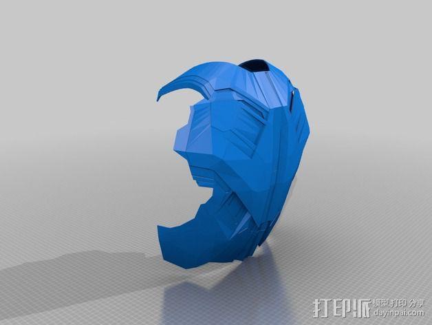 钢铁侠盔甲护胸 3D模型  图21
